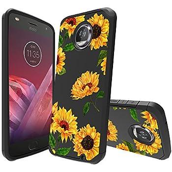 Amazon.com: Moto Z2 Force Case, Moto Z2 Play Case, POKABOO ...