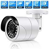 Unitech 4MP Low Lux Mini IR Bullet IP Camera HD 1080P POE IR Night Vision ONVIF IP Outdoor Security Camera with Motion Detection Alerts and Remote Viewing(3.6mm) For Sale