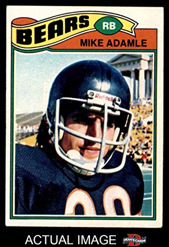 1977 Topps   481 Mike Adamle Chicago Bears  Football Card  Deans Cards 5   Ex Bears
