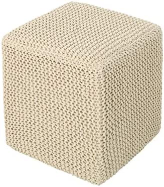 Christopher Knight Home Scott Knitted Foot Stool