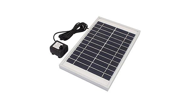 Amazon.com: eDealMax Bomba de agua 5W Solar Fuente de la ...