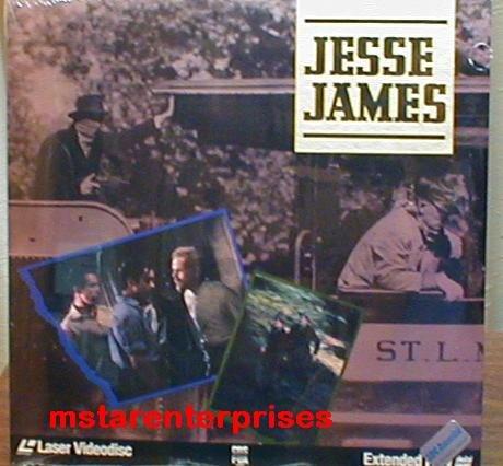 Jesse James Starring Tyrone Power, Henry Fonda, Nancy Kelly, Randolph Scott, Henry Framework, NEW Laser Disc