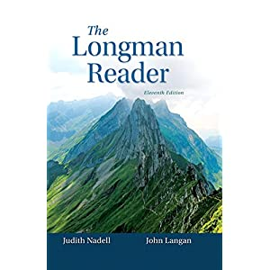 Epub Book The Longman Reader 11th Edition Pdf The Recommended