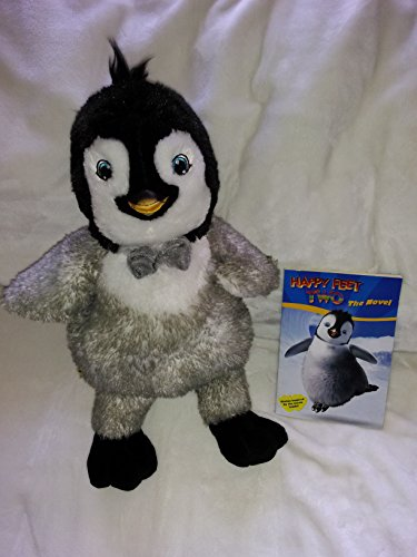 - Happy Feet Two Toy Set: Plush Penguin Erik Build a Bear 17'' Inches and Happy Feet Two The Novel Paperback