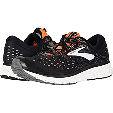 e9151f15bbe05 Brooks Men s Glycerin 16 Black Orange Grey 9.5 ...