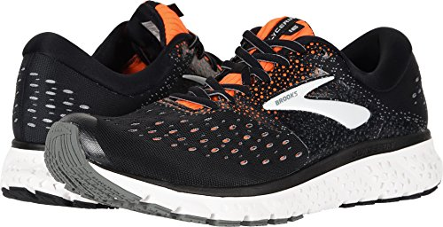 Brooks Men's Glycerin 16 Black/Orange/Grey 7.5 D US