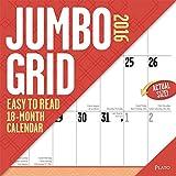 Jumbo Grid (large print) - 2016 Calendar 12 x 12in