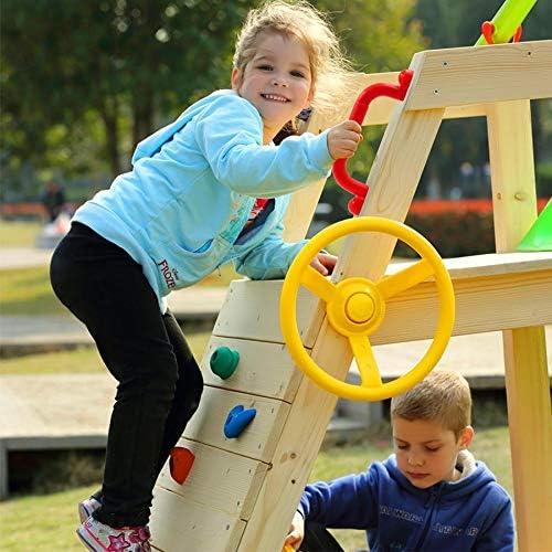 Noblik 1 Pair Children Playground Nonslip Handle Mounting Hardware Kits Climbing Frame Stair Handrail Swing Outdoor Sports Toy Accessories
