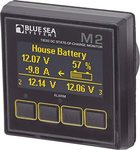 Blue Sea Systems M2 OLED DC SOC ()