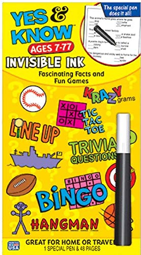 Invisible Ink Yes & Know 7-77 ()