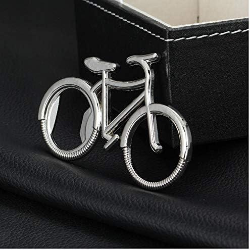 PiniceCore Metall Bier Flaschenöffner Nettes Fahrrad-Schlüsselanhänger Schlüsselanhänger für Liebhaber Biker Flaschenöffner kreativen Geschenk für Radfahren