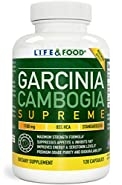 85% HCA ENHANCED [★] Garcinia Cambogia Extract Supreme (Standardized) - Superior Grade All Natural Weight Loss Supplement, Supports Serotonin, Zero Fillers, Binders or Contaminants (1 Bottle, 120 Ct)