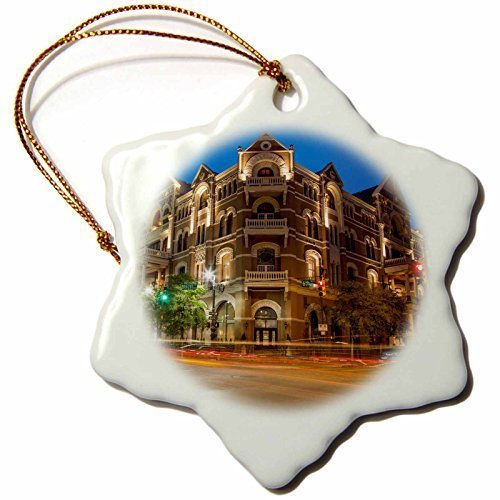 pansy Funny Christmas Snowflake Ornaments The Historic Driskell Hotel On Sixth Street Austin Texas Usa Holiday Xmas Tree Hanging Ornaments Decoration Gifts