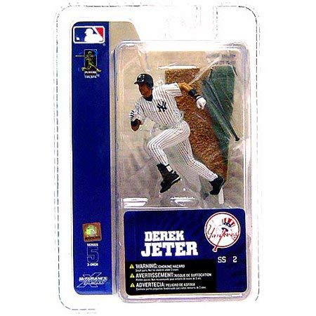 Mcfarlane Mlb 3 Figure - McFarlane Toys MLB 3 Inch Sports Picks Series 5 Mini Figure Derek Jeter 2 (NY Yankees)
