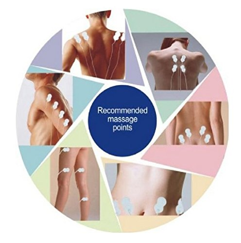 8 Modes a lot of productive easily transportable minuscule Handheld Muscle Stimulators Accessories
