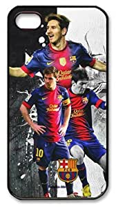 icasepersonalized Personalized Protective Case for iPhone 4/4S - Lionel Messi FCB