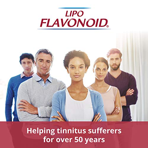 Lipo-Flavonoid Plus Ear Health Supplement | Most Effective Over the Counter Solution to Reduce Ear Ringing| #1 ENT Doctor Recommended for Tinnitus | 500 Caplets by Lipo-Flavonoid (Image #9)