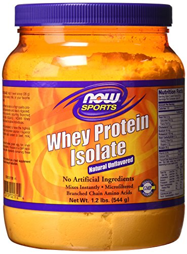- Whey Protein Isolate 100% Pure (Natural Unflavpred) - 1.2 lbs
