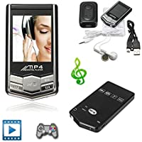 Mini 8GB MP3/MP4 Player Slim Style LCD FM Radio Video Media Photo View Music