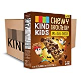 KIND Kids Granola Chewy Bar, Chocolate Chip, Gluten Free, Dairy Free, 0.81oz Bars, 6 Count (Pack of 8)