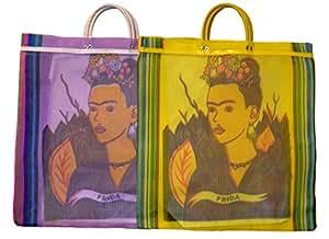 Varios Frida Tote bolsa de mercado reciclado 18 SQ (México ...