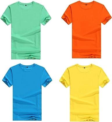 Camisa de Manga Corta de algodón para Hombre Camisa de Manga Corta Casual (Color : 13, Size : XXXL): Amazon.es: Ropa y accesorios