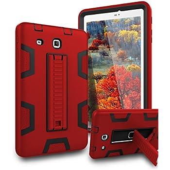 Amazon com: Samsung Galaxy Tab E 8 0 Case,XIQI Three Layer Hybrid