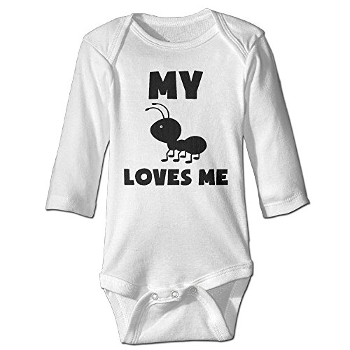 My Ants Love Me Unisex Baby 100% Cotton Long Sleeve Romper Clothes Outfits