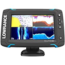Lowrance Elite-7 Ti Touch Combo w/TotalScan Transom Mount Transducer and Navionics+ Chart