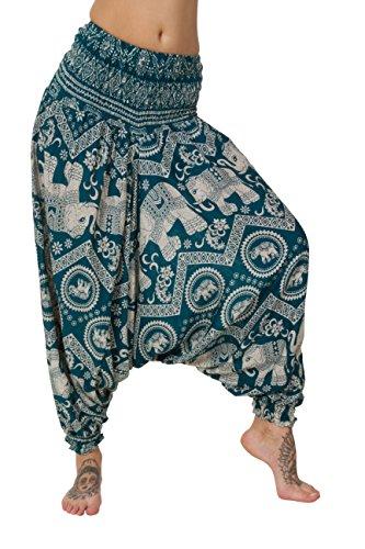 Pour Ocean Thaiuk Blue short Trous Elephant Femmes Pantalons Bas Nbsp; nFTqZFHwa