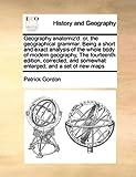 Geography Anatomiz'D, Patrick Gordon, 1171028733