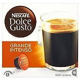 NESCAFÉ Dolce Gusto Grande Intenso Dark Roast 16 Capsules (Pack of 3, Total 48 Capsules, 48 Cups)