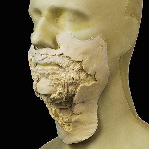 Rubber Wear Foam Latex Prosthetic - Large Zombie Mouth #2 - FRW-116 - Makeup ()