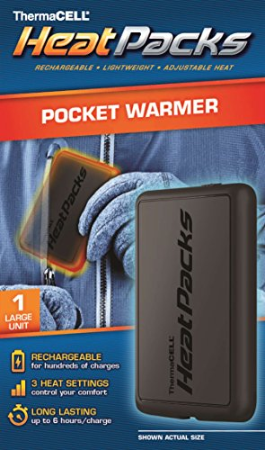 ThermaCELL Heat Pack Rechargeable Hand and Pocket Reusable Warmers