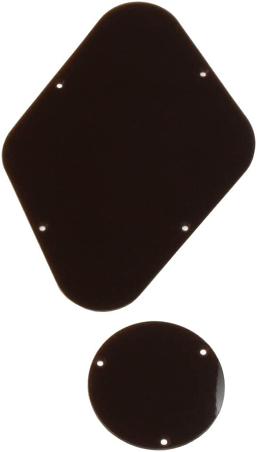 Allparts PG-0814-036 Brown Backplates for Gibson Les Paul