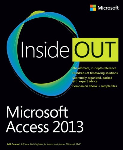 Microsoft Access 2013 Inside Out by Microsoft Press