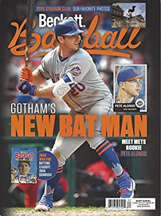 Newest Guide Beckett Baseball Card Monthly Price Guide July 16 2019 Releasep Alonso Cover Pricing Starts At 1980