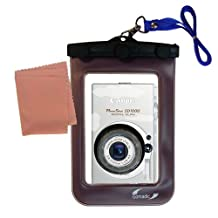 Gomadic Weatherproof Case Designed for the Canon Powershot SD1000 Camera – Waterproof Protection for your Camera