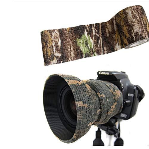 Tissu Camouflage Tape Wrap Camouflage Adhésif pour Pistolets Décor de Bande de Protection Tactique Bande de Camouflage… 4
