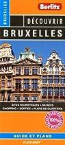 Bruxelles - Plan plastifié de Bruxelles et de son centre-ville par Berlitz