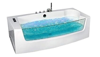Vasche Da Bagno Jacuzzi Confronta Prezzi : Vasca bagno idromassaggio modello dorado cm cromoterapia