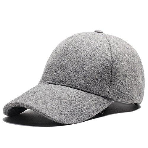 Grey Casual Hats - 1