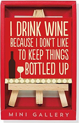 Wine Mini Gallery (Decor artwork with mini easel)