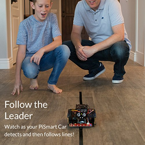 SunFounder AI Robot Car Smart Robot Kit for Raspberry Pi 3