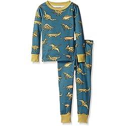 Little Blue House By Hatley Little Boys Pajama Set Dinos, Blue, 4