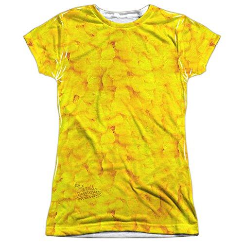 Twitter Bird Costume (Sesame Street Big Bird Costume (FB Print) Juniors Sublimation Shirt)