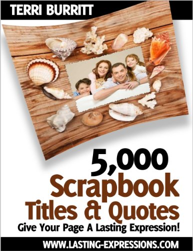 5,000 Scrapbook Titles & ()