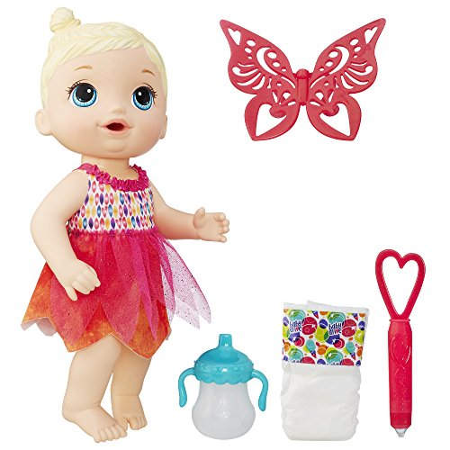Fairy Wings Baby (Baby Alive Face Paint Fairy (Blonde))