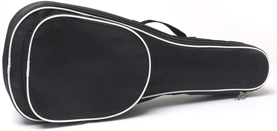 Acoustic Guitar Bag Guitar Bag Musical Instrument Ukulele Shoulder Bag Female Oxford Cloth Waterproof Plus Cotton Guitar Bag Multi-Standard Ukulele Piano Bag