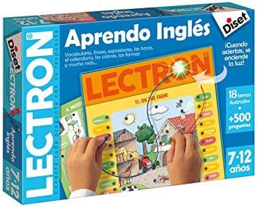 Diset - Lectron Aprendo Inglés (Diset 63857): Amazon.es: Juguetes y juegos